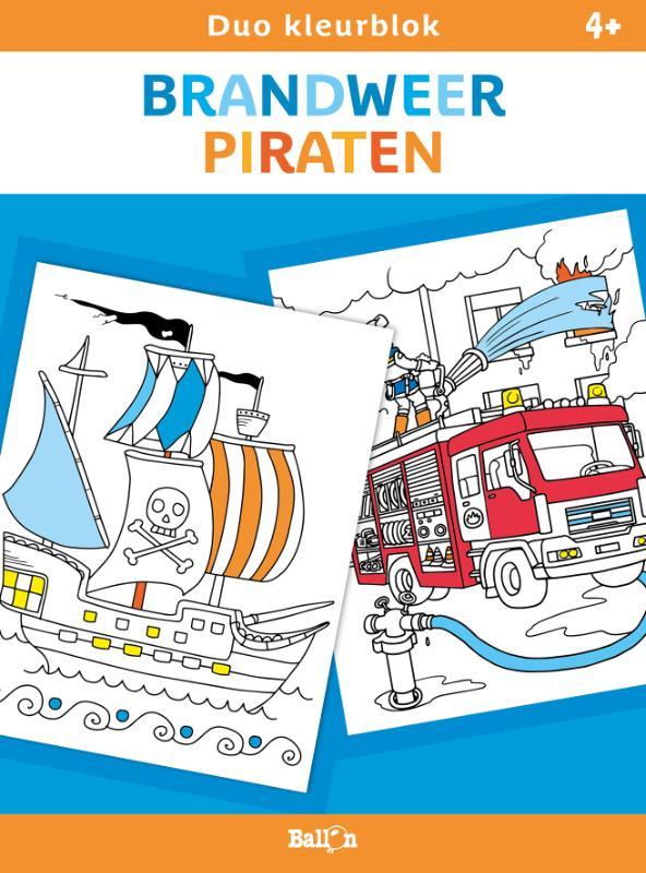 ,Brandweer en piraten