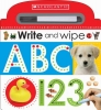 Scholastic,   Scholastic Early Learners,Write and Wipe ABC 123 (Scholastic Early Learners)