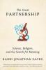 Sacks, Jonathan,The Great Partnership