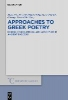 ,Approaches to Greek Poetry