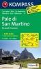 ,Pale di San Martino - Fiera di Primiero 1:50000