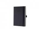 ,notitieboek Sigel Conceptum Pure hardcover A5 zwart         gelinieerd