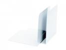 ,boekensteun Alco 130x140x140mm metaal 2 stuks in doos wit