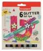 ,<b>Viltstift Bruynzeel Kids glitter blister à 6 stuks assorti</b>