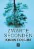 Karin  Fossum,Zwarte seconden - grote letter uitgave