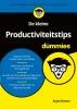 Arjan  Broere,De kleine Productiviteitstips voor Dummies