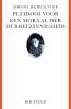 <b>Simone de Beauvoir</b>,Pleidooi voor een moraal der dubbelzinnigheid