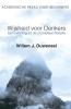 <b>Ouweneel, Willem J.</b>,Wijsheid voor denkers