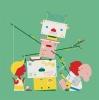 ,Poesiealbum tekenrobot