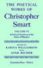 Christopher Smart,   Anne Becher The Poetical Works of Christopher Smart: Volume VI. A Poetical Translation of the Fables of Phaedrus