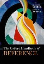 Gundel, Jeanette The Oxford Handbook of Reference