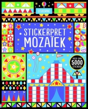 Mozaik stickerpret