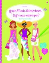 Grote mode stickerboek -zelf mode ontwerpen - Zomercollectie