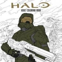 Microsoft Halo Coloring Book