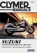 Clymer Publications Suzuki Volusia/Boulevard C50 (2001-2019) Clymer Repair Manual