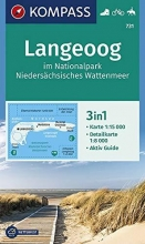 , Langeoog im Nationalpark Niedersächsisches Wattenmeer 1:15 000