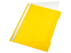 , Snelhechter Leitz 4191 A4 PVC geel