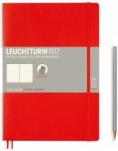 Lt349308 , Leuchtturm notitieboek composition 178x254 mm dots/puntjes rood
