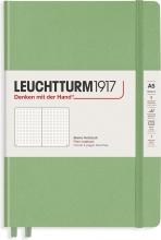 Lt363928 , Leuchtturm notitieboek composition softcover 178x254 mm puntjes sage lichtgroen