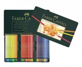 , kleurpotlood Faber-Castell Polychromos etui à 60 stuks