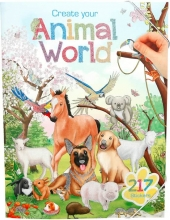 Create your animal world colouring