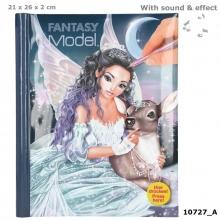 Fantasymodel tekenboek met licht en geluid