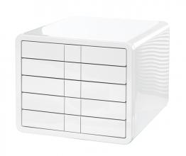 , ladenkast HAN i-Box met 5 gesloten laden wit