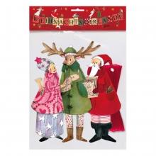 , Kerstslingers 3 kerstfiguren