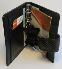 Pj254kt02 , Agenda omslag junior korinto zwart15mm