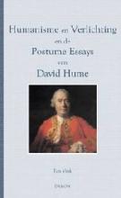 David Hume Ton Vink, Humanisme en verlichting en de postume essays van David Hume