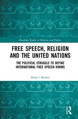 Heini (Assistant Professor, University of the Faroe Islands.) i Skorini,Free Speech, Religion and the United Nations