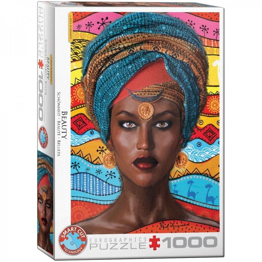 Eur-6000-5620,Puzzel eurographics beauty 1000 stukjes