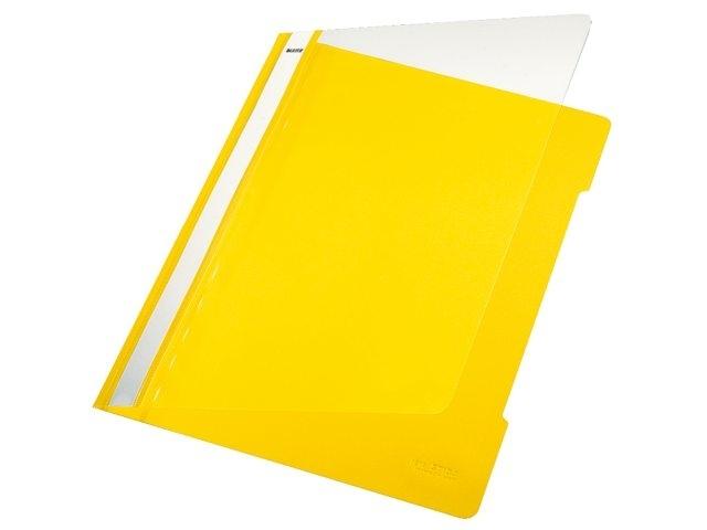 ,Snelhechter Leitz 4191 A4 PVC geel