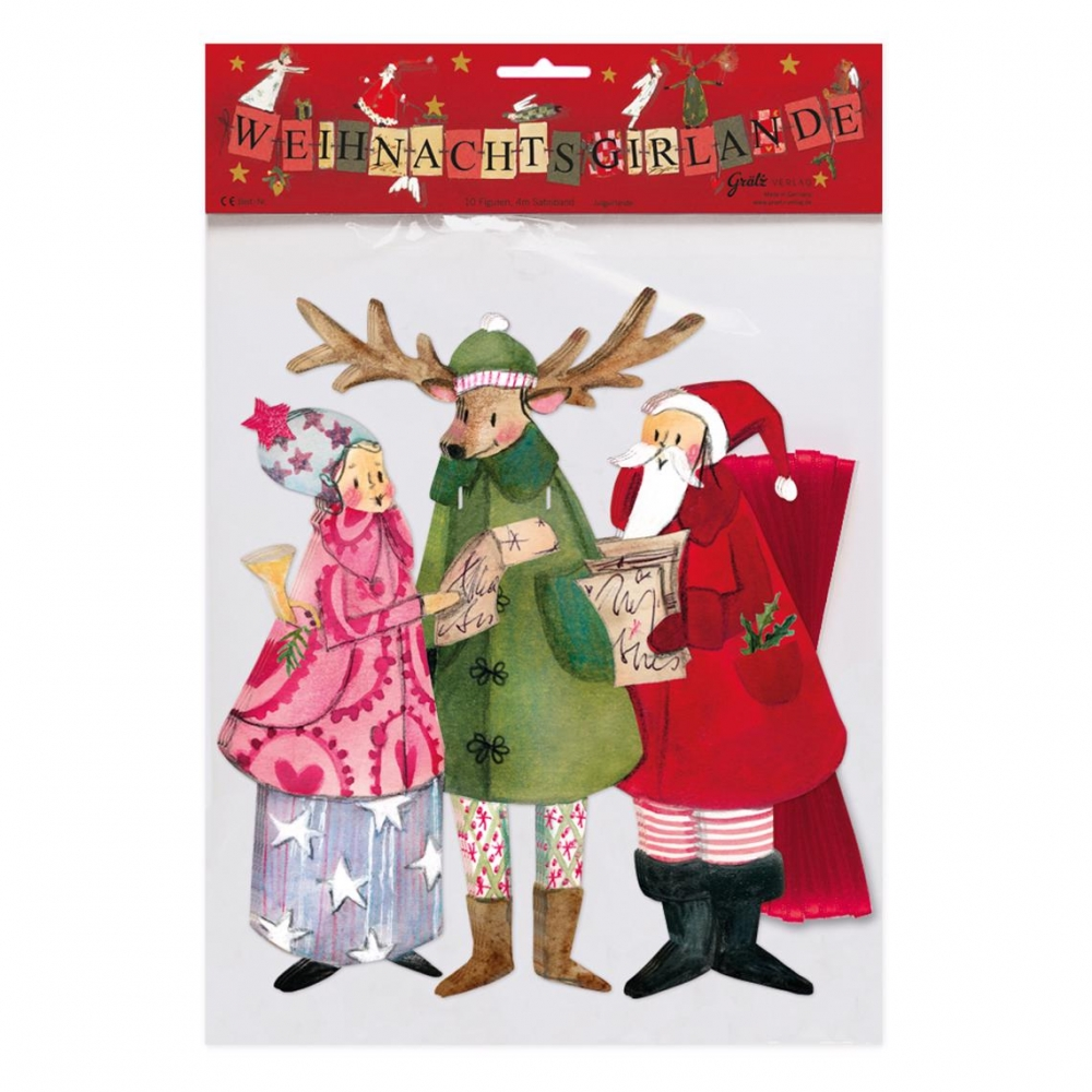 ,Kerstslingers 3 kerstfiguren