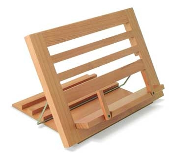 ,WOODEN READING REST