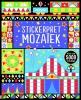 Usborne Stickerboeken Stickerpret Mozaiek, Usborne Stickerboeken