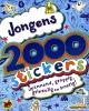 , 2000 stickers voor jongens