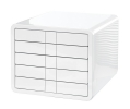 <b>ladenset Han `iBox` 5L wit, gesloten laden</b>,