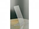 ,<b>Tafel Folderstandaard Opus2 A4 Staand Glashelder</b>