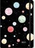 , Agenda compact  2021 16 mnd 12.7x17.8 cm planets
