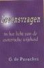 G.de Purucker, Levensvragen