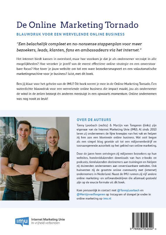 Tonny Loorbach, Martijn van Tongeren,De Online Marketing Tornado