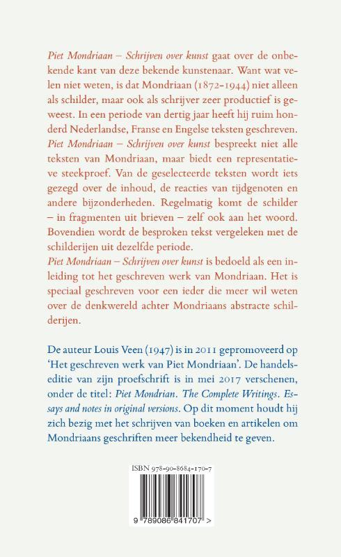Louis Veen,Piet Mondriaan - Schrijven over kunst
