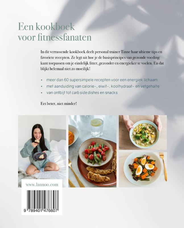 Tinne Raeymaekers,Het fitness kookboek