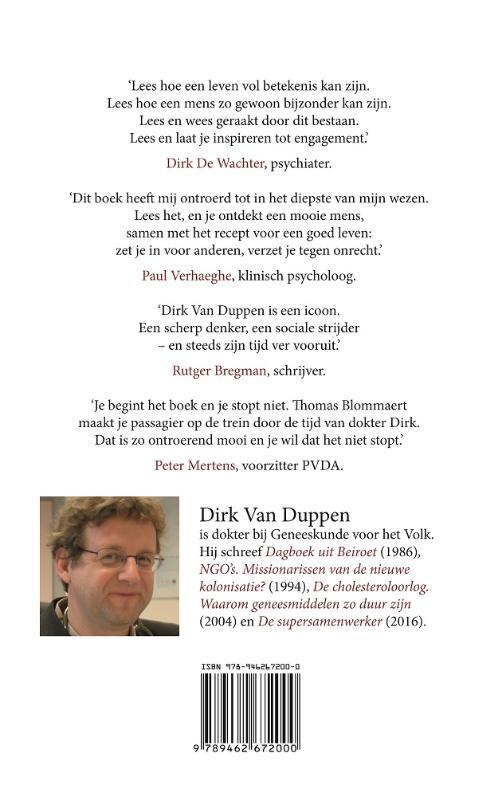 Dirk Van Duppen,Zo verliep de tijd die me toegemeten was