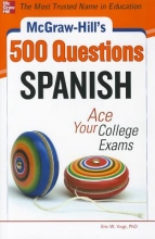 Vogt, Eric W. McGraw-Hill`s 500 Spanish Questions