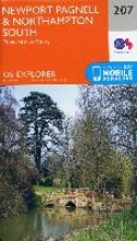 Ordnance Survey Newport Pagnell and Northampton South