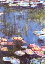 Monet Monet Water Lilies Notebook