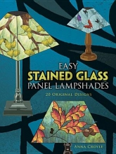 Anna Croyle Easy Stained Glass Panel Lampshades
