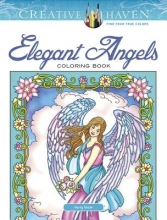 Noble, Marty Creative Haven Elegant Angels Coloring Book